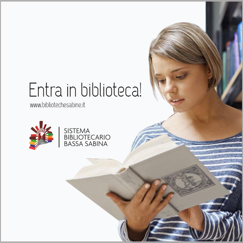 Banner del Sistema Bibliotecario della Bassa Sabina - Link esterno al sito